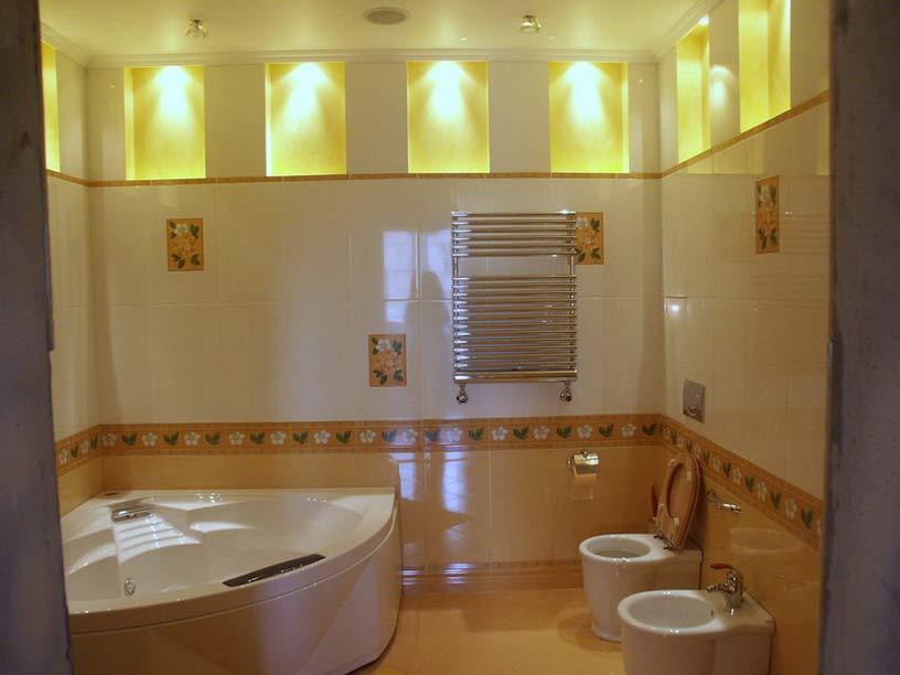 Ванная комната, фото 12 - Строительный